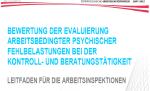 Arbeitspsychologie Salzburg Leitfaden der Arbeitsinspektion zur Arbeitsplatzevaluierung psychischer Belastungen
